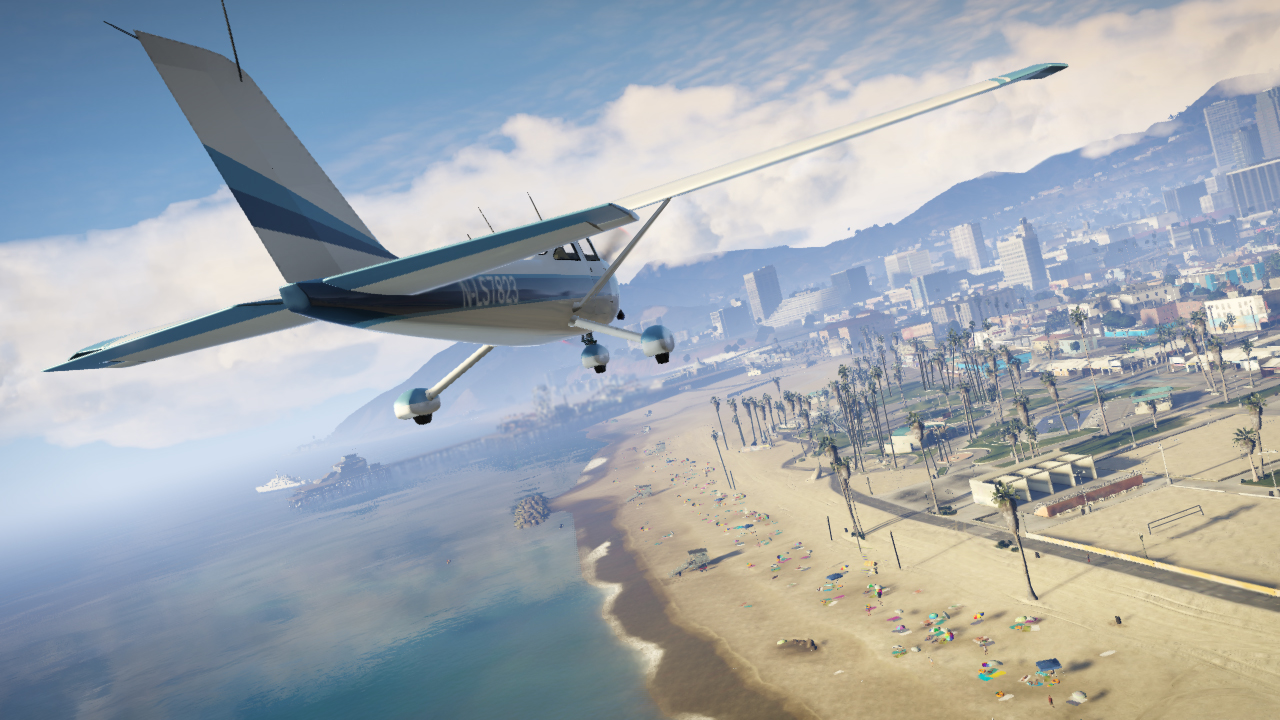 gta v flying